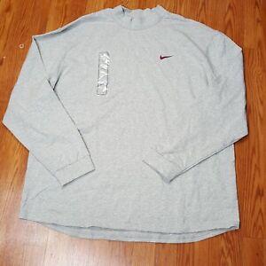 Nike-Extensible-Stretch-Long-Sleeve-L-S-Football-Shirt-Grey-4XL-XXXXL-FSU-Noles