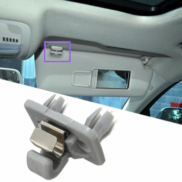 SUN VISOR CLIP HOLDER HOOK BRACKET FOR AUDI A1 A3 A4 Q3 Q5 without cover