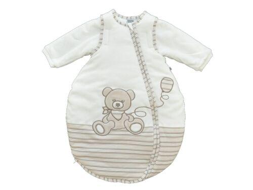 """Ärmeln   Gr Jacky Baby Schlafsack /""""Bär/"""" wattiert abnehmb 50//56-86//92"""