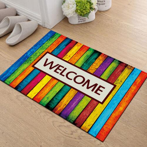 Anti Slip Welcome Door Mat Entrance Doormat Indoor for Home Decor 40x60cm #2