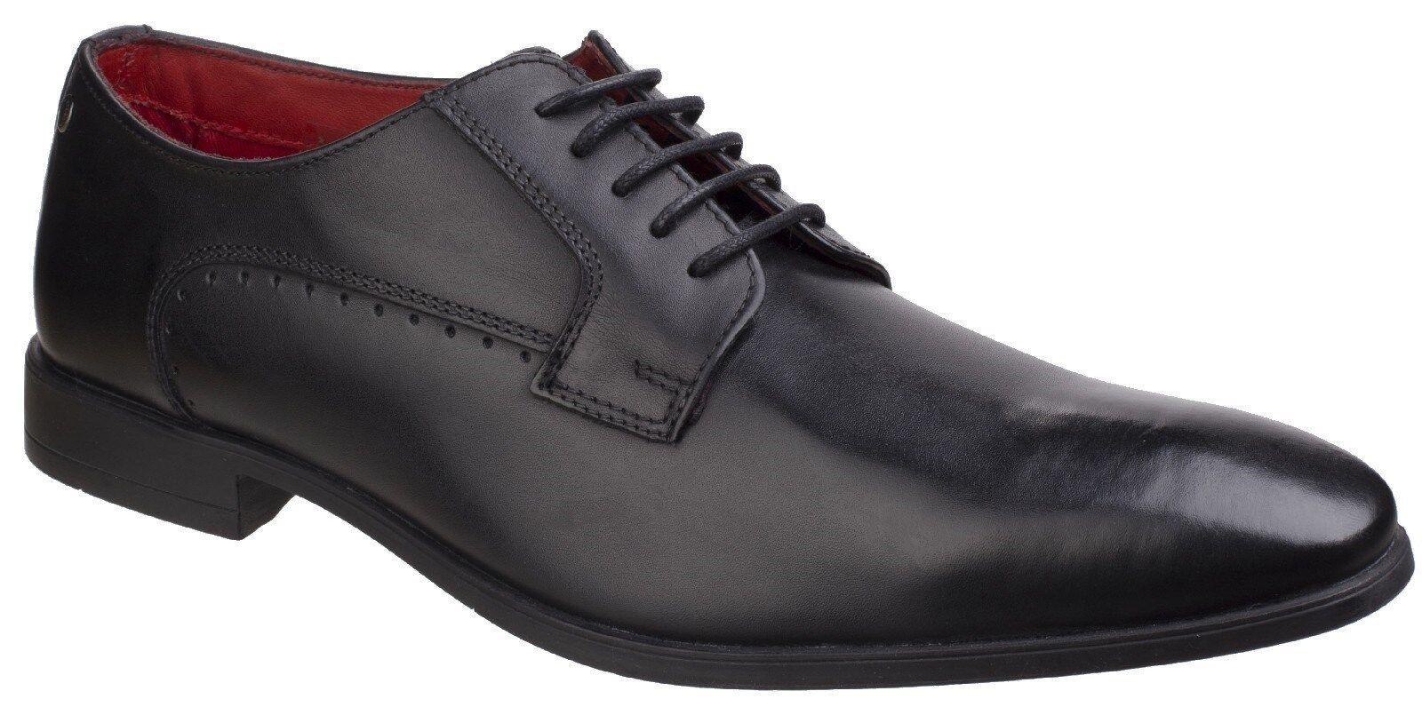 BASE LONDON Penny gewaschen Formell schnürbar Smart Schuhe Herren