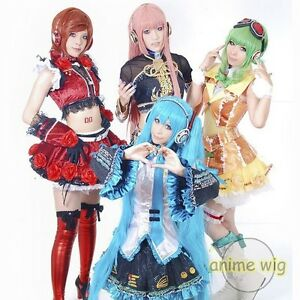 New-Vocaloid-Hatsune-Miku-Show-Anime-Long-Cosplay-Party-Hair-wig-Free-UK