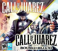 Call Of Juarez And Call Of Juarez Bound In Blood. Brand Ships Fast / Free