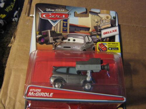 DISNEY PIXAR CARS 2 DELUXE STUDS McGIRDLE