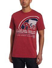 MLB Philadelphia Phillies Men's Submariner Short Sleeve Basic T-Shirt, Medium