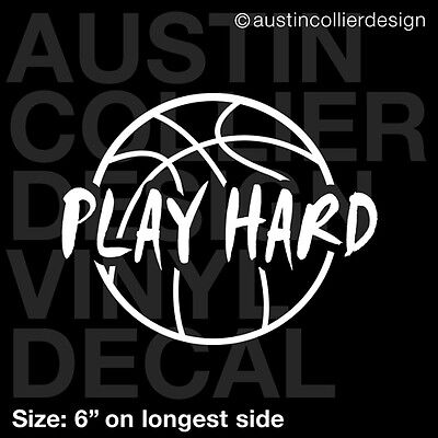 Work Hard Play Harder! Car Laptop Bumper Window Vinyl Decal Sticker 10412
