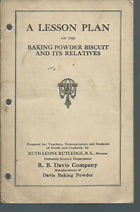 ne 020 1924 davis baking powder company lesson plan baking powder