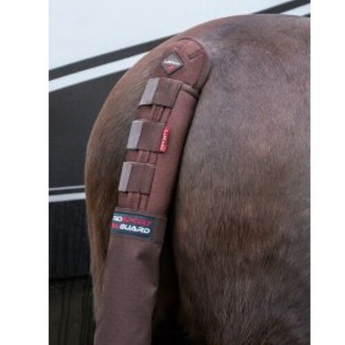 LEMIEUX TAIL GUARD WITH BAG BROWN horse secure airprene protective travel