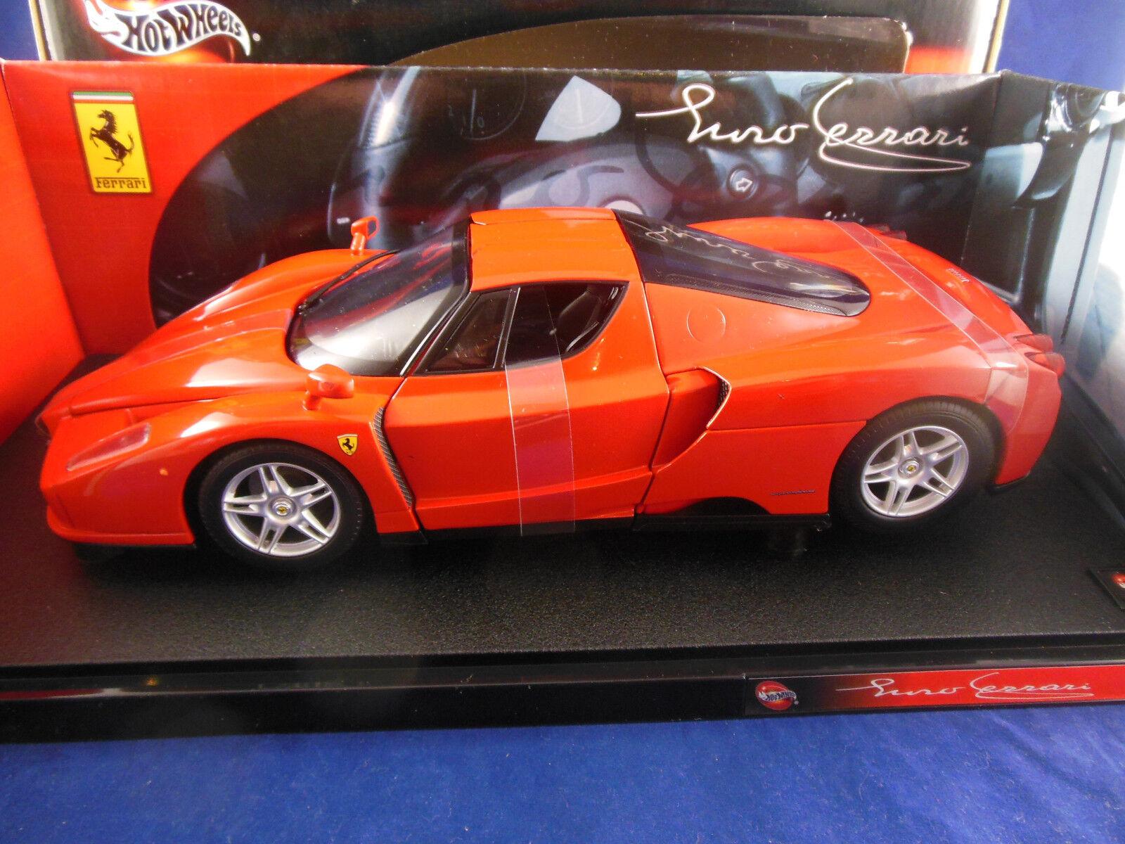 Hot Wheels 56293 Ferrari Enzo in red 1 18 Scale