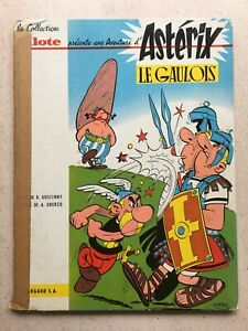 Asterix le Gaulois collection Pilote 1961.