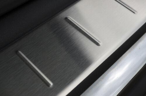 2017+ Para Peugeot 3008 Protector de Parachoques Trasero Rasguño Protector De Acero Pulido S.