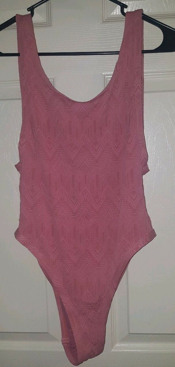Piha Print Swimsuit pink  Pink NZ 12, AUST 12, USA 8, CAN 10 NWT