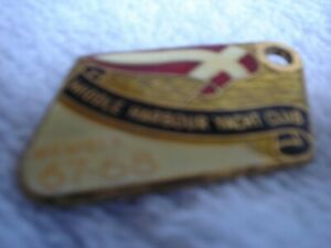 6-X-MIDDLE-HARBOUR-YACHT-CLUB-MEMBERS-BADGES-64-TO-69-3-CM-EACH-METAL
