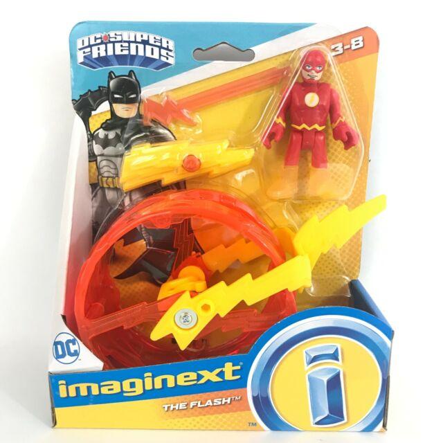IMAGINEXT The Flash Wheel Set Batman Dc Super Friends Set New In Box