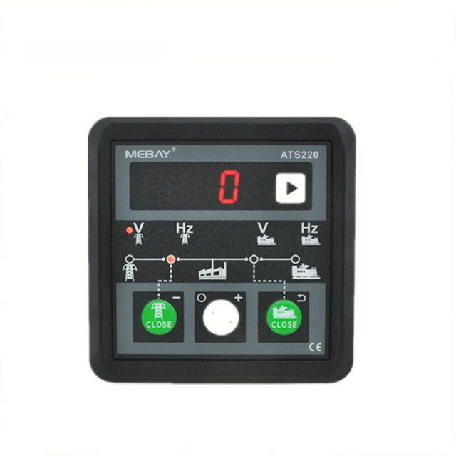 Ats220 Generator  Mains Ats Controller Automatic Transfer Switch Controller