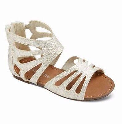 Sarah-Jayne Guille Gladiator Lace Up Crib Sandals Flats BHFO 0563