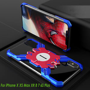 Armor-CNC-Aluminum-Metal-Bumper-Cover-Case-For-iPhone-X-XS-Max-XR-8-7-6S-Plus