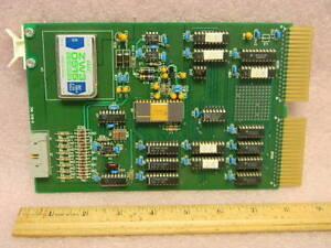 DEC-System-Card-Kevex-Instruments-50301211-Rev-A-QBus-ADC-Module