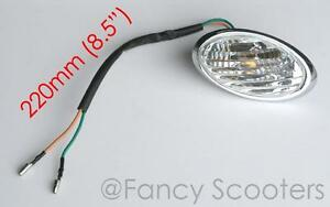 Rear-Left-Side-Turn-Signal-for-Peace-Sports-TPGS-811-50cc-150cc-RETRO-SCOOTER