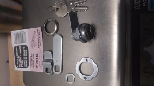 "Drawer Cabinet Toolbox Flat key 5ea Cam Lock Set 5//8/"" keyed alike RV Camper"
