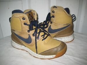 b4affc3df013c Details about NIKE STASIS ACG 685610 700 Youth Boots Shoes Size 53.5 / 3.5 Y