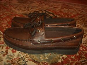 Redhead boat shoes