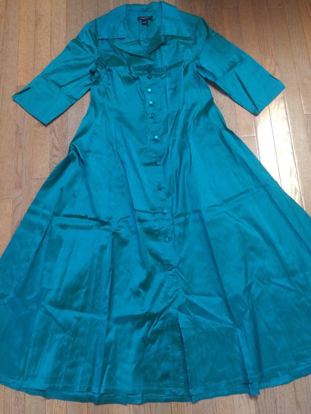 Lundstrom Women's 100% Silk Dress Size 8