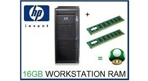 Details about 16GB (2x8GB) DDR3 ECC RDimm Memory Ram Upgrade HP Z600  Workstation C2 Board Only