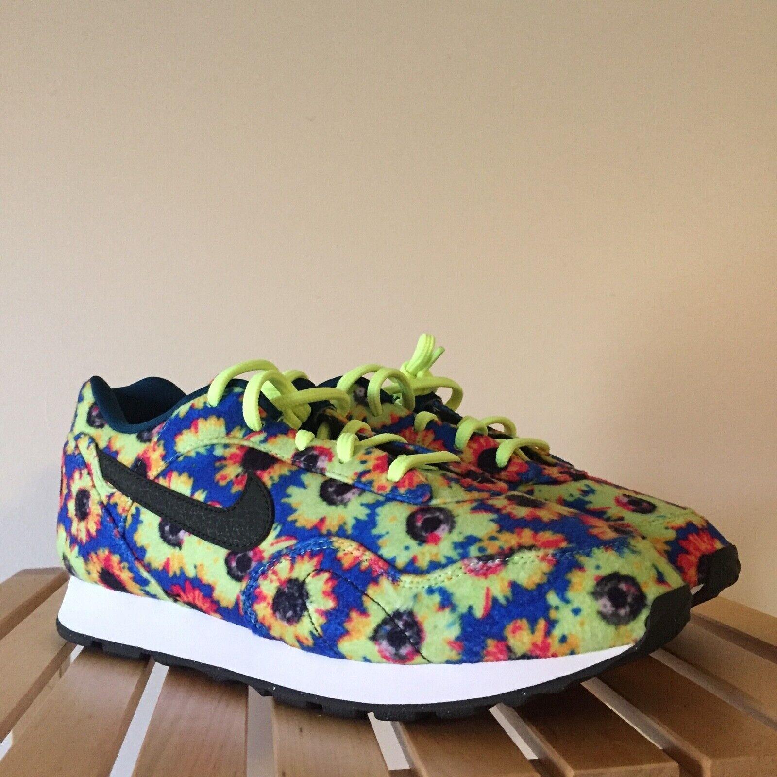 Nike Wmns Outburst SE  Floral  AJ8299-300 Size 7 Sequoia White Volt Glow NEW