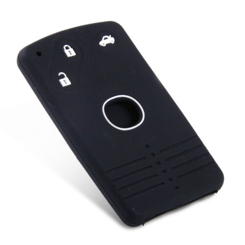 3 Buttons Car Silicone Remote Smart Key Card Case Cover Fit For Mazda CX-7 CX-9