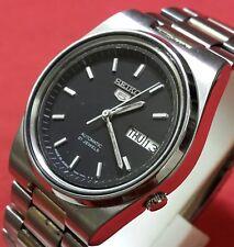 Vintage seiko 5 men's daydate   automatic  japan working wrist watch BG010