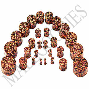 V097-Double-Flare-Acrylic-Leopard-Cheetah-Print-Earlets-Saddle-Plugs-10G-1-034-In