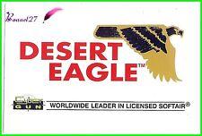 "Autocollant CYBER GUN Worldwide leader in licensed softair arme "" DESERT EAGLE """