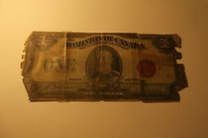 1923-DOMINION-OF-CANADA-1-DOLLAR-LOW-GRADE-NOTE