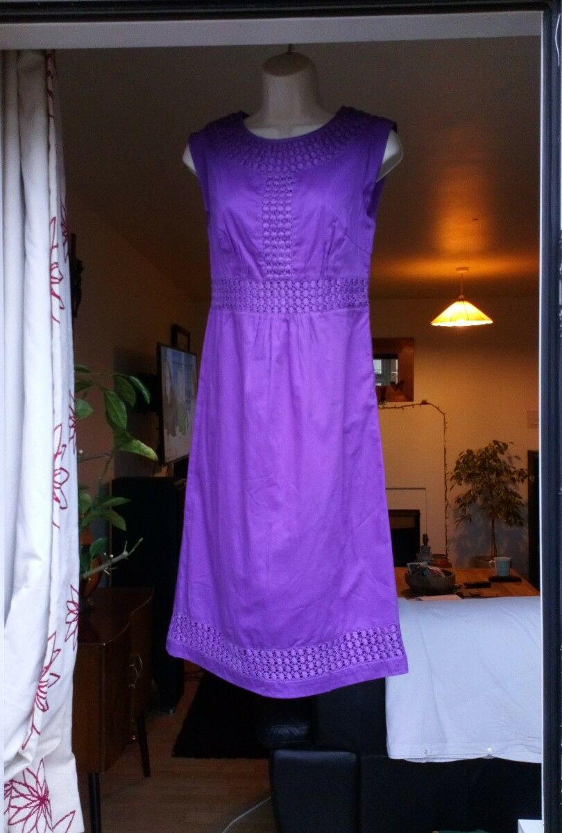 Monsoon Indian Cotton Dress Size 8