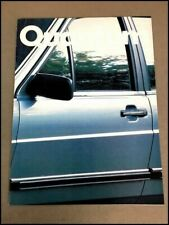 1983 Vw Volkswagen Quantum 20 Page Original Car Sales Brochure Catalog