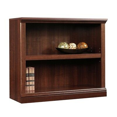 Sensational Small Bookshelf Wood Bookcase 2 Shelf Storage Adjustable Shelving Organizer New 822434874633 Ebay Home Interior And Landscaping Elinuenasavecom