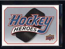MARTIN BRODEUR HEADER 2009/10 09/10 UPPER DECK HOCKEY HEROES HEADER #HHMB AB9103