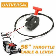 Universal Gashebel Bowdenzug für Benzin Rasenmäher Schalthebel Rasenmäher
