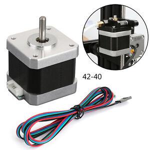 Moteurs D'Imprimante 3D Moteur Pas ¨¤ Pas 42-40 X/Y/E 1.8¡ãPour Ender 3Pro CR-10