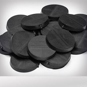 BRAND-NEW-25mm-round-plain-black-plastic-bases-Infinity-Warhammer-wargaming