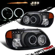 Ccfl Halo1995 2001 Ford Explorer Not For Sport Trac Projector Led Blk Headlights