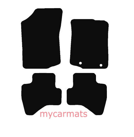 2014 To Present Citroen C1 New Fully Tailored Car Floor Mats Black Carpet