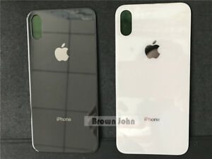 New Replacement Glass Battery Rear Back Cover for Apple iPhone X iphone 8 8 plus