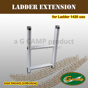 G-CAMP-LADDER-EXTENSION-ROOF-TOP-TENT-TRAILER-4WD-4X4-CAMPING-CAR-RACK