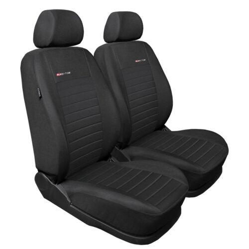 ax1 antracita VW t6 2x Front p4 fundas para asientos ya referencias funda del asiento de coche