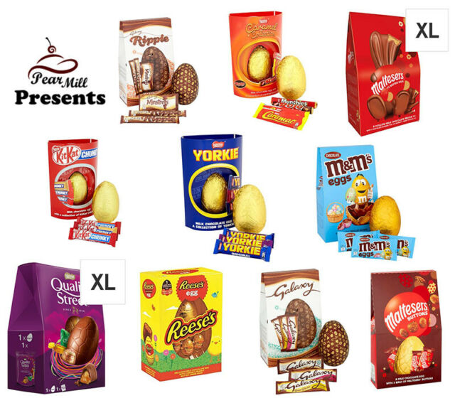 The Best Easter Chocolate Eggs Selection Sharing Gift Family Present