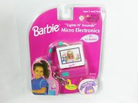 1999 Mattel Barbie Lights N Sounds Micro Electronics Personal Computer Pack Pals