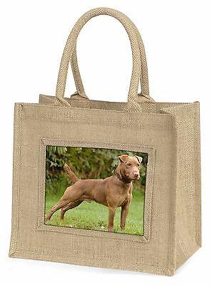 Patterdale Terrier Hund Große Natürliche Jute-einkaufstasche Weihnachtsgeschenk,