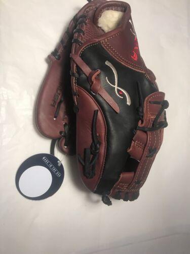 """Insignia Baseball Glove Defiant 11.75"""" New Brn//Blk LH Catch//RH Throw"""